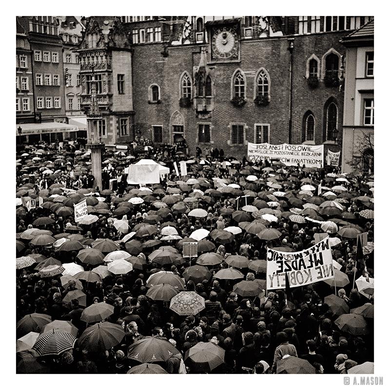 Czarny poniedziałek weWrocławiu