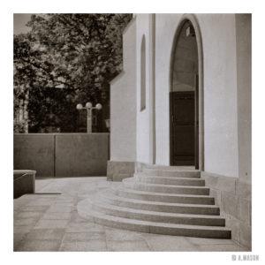 Opolskie kościelne schodki